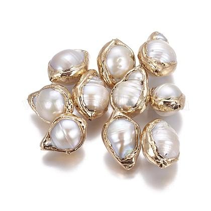 Perlas naturales perlas keshi perlas barrocasPEAR-F010-04G-1
