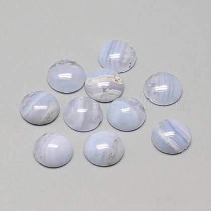 15 x 24mm Natural Stones Jewelry Cabochons Dendrite Agate and Blue Agate Parcel of Two Cabochons 17 x 24mm