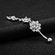 Brass Piercing JewelryAJEW-EE0006-86P-2