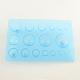 ボードミニモールドペーパークラフト装飾DIYのスクラップブック作りをする紙クイリングツールハーフボールDIY-R023-09-2