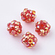 AB-Color Resin Rhinestone Beads RESI-S315-8x10-20-1