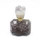 天然アメジスト開閉式香水瓶ペンダントG-E556-18A-2