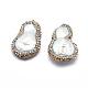 Perlas naturales abalorios de agua dulce cultivadasRB-A062-074-2