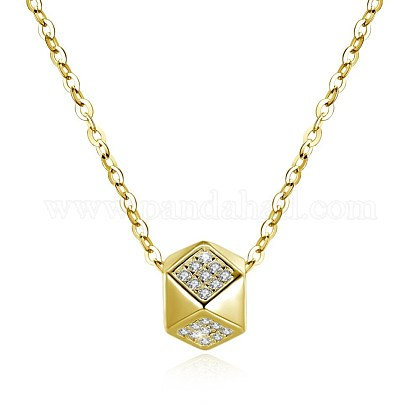 925 Sterling Silver Pendant NecklacesSTER-BB30762-G-1