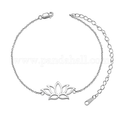 SHEGRACE® 925 Sterling Silver Link BraceletsJB563A-1