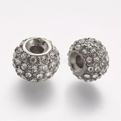 304 Stainless Steel Rhinestone BeadsSTAS-A032-050P-1