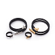 304 Stainless Steel Wrap Bangles and Finger Ring Jewelry SetsSJEW-L137-01-1