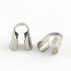 Tapanudos de abalorios de acero inoxidableSTAS-R062-4mm-1