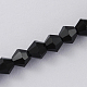 Imitation Austrian Crystal 5301 Bicone BeadsGLAA-S026-6mm-10