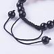Fashion Cat Eye Jewelry Sets:Bracelets & RingsSJEW-JS00142-04-4