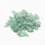 天然石グリーンアベンチュリンビーズ, 穴なし/ドリルなし, チップ, 5~8x2~5ミリ。約50グラム/袋