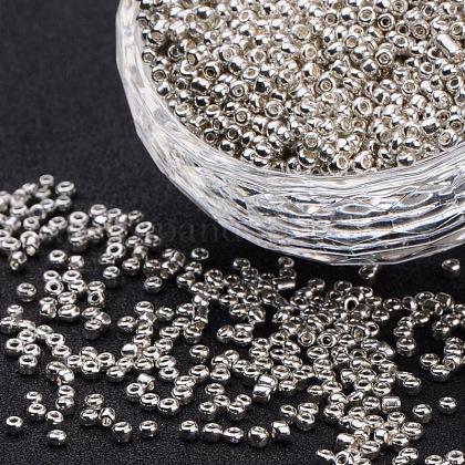 Abalorios de la semilla de cristal electrochapaSEED-Q005-2-1