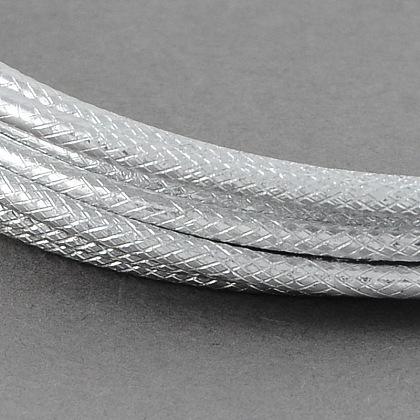 テクスチャード加工されたアルミニウムクラフトワイヤーAW-R004-2m-01-1