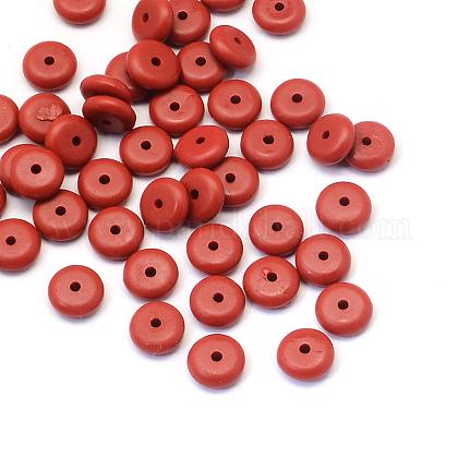 Rondelle Cinnabar BeadsCARL-Q003-04A-1