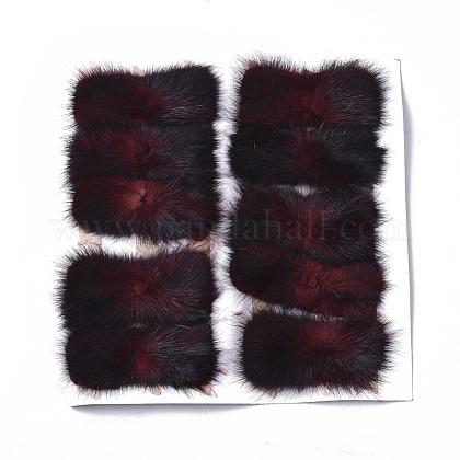Faux Mink Fur Rectangle DecorationFIND-S320-01C-01-1