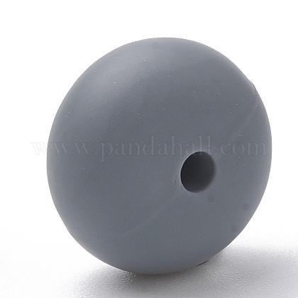 Abalorios de silicona ambiental de grado alimenticioSIL-Q001B-15-1