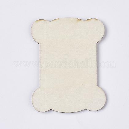 Неокрашенные деревянные намоточные доскиWOOD-T011-54-1