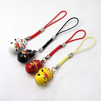 Fashion Brass Kitten Bell Mobile StrapsX-MOBA-G055-M04-1
