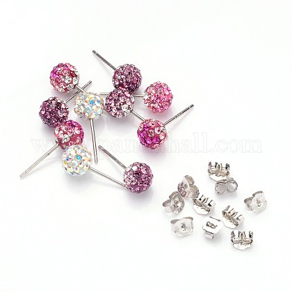 Valentine Day Gifts for Her Delivered Austrian Crystal EarringQ286J-M-1