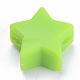 Abalorios de silicona ambiental de grado alimenticioSIL-T041-03-1