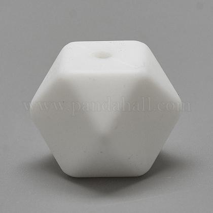Abalorios de silicona ambiental de grado alimenticioSIL-Q009A-01-1