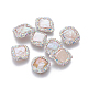 Perlas naturales abalorios de agua dulce cultivadasPEAR-F015-15-1