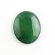 Природный зеленый агат драгоценный камень кабошоныG-R270-14-2