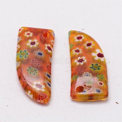 手作りミッレフィオーリガラスペンダントLAMP-G120-01-1