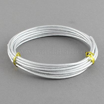 Textured Aluminum Craft WireX-AW-R004-2m-01-1