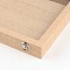 Boîtes d'affichage pendantes en bois et en boisODIS-R003-10-5