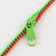 Plastic Zipper BraceletsBJEW-A060-M3-5