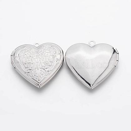 Románticas ideas del día de San Valentín para él con sus colgantes medallón foto de latónECF138-1