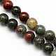 Natural African Bloodstone Beads Strands G-S184-8mm-1
