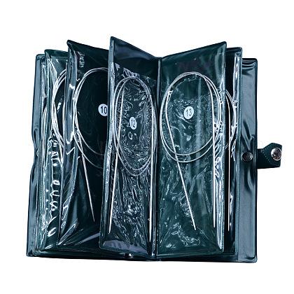 Base de agujas de tejer circular de acero inoxidable alambre de aceroTOOL-R050-65cm-1