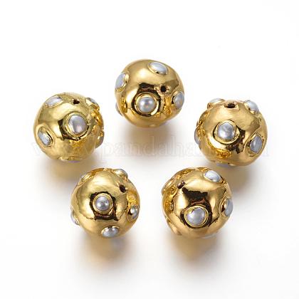 Perlas naturales abalorios de agua dulce cultivadasPEAR-F011-59G-1