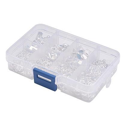 1ボックスアクセサリーパーツ20個入り合金製カニカンFIND-X0001-S-B-1