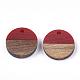 Colgantes de resina y madera de nogalRESI-S358-02E-12-2
