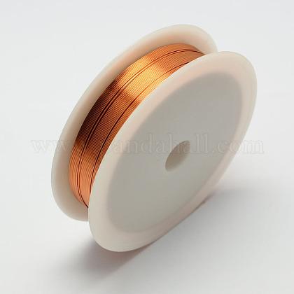 Copper Jewelry WireCWIR-R001-0.3mm-01-1