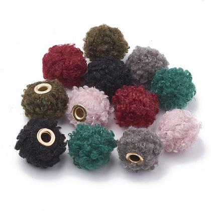Perlas hechas a mano de tela europeaWOVE-N006-09-1