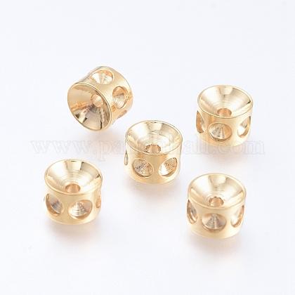 304 Stainless Steel Beads Rhinestone SettingsSTAS-E474-53B-G-1