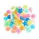 Luminous Resin Beads & CabochonsRESI-WH0008-29-1