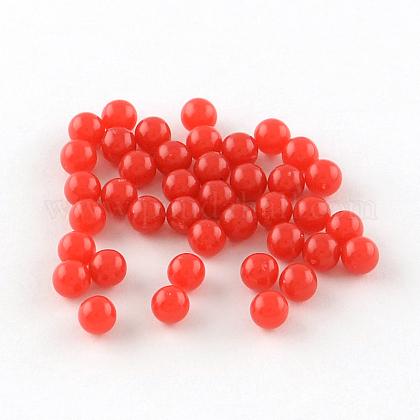 Round Acrylic BeadsSACR-R889-12A-1