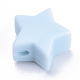 Abalorios de silicona ambiental de grado alimenticioSIL-T041-12-2