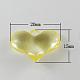 Colgantes de acrílico transparentesX-TACR-R5-20X15mm-M-2