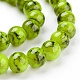 Spray Painted Glass Bead StrandsX-GLAD-S075-8mm-29-1