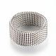 304 bases del anillo de dedo de acero inoxidableX-MAK-R010-18mm-2