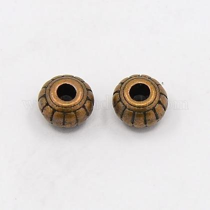 Abalorios de aleación de estilo tibetanoX-K0PB3061-1