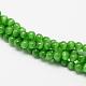 Chapelets de perles d'œil de chatCE-R002-6mm-20-2
