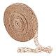 Hilo de soutache de cuerda de cáñamo tejido a mano para decoración.OCOR-WH0031-C01-1