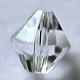 Abalorios de cristal austriaco de imitaciónSWAR-F022-4x4mm-M-2